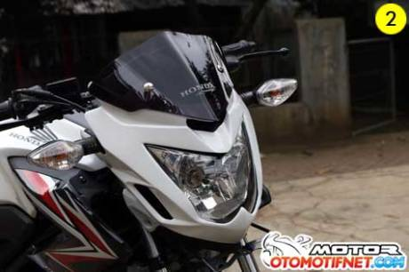 cover headlamp cb150r