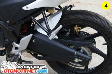 cover swing arm cb150r