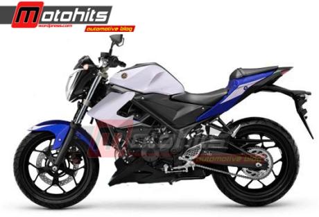 Yamaha R25 versi naked