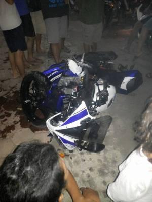 Kecelakaan R15