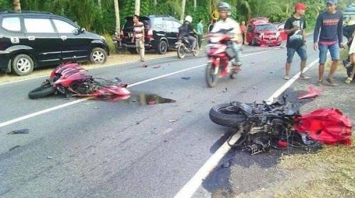 kecelakaan ninja 250r