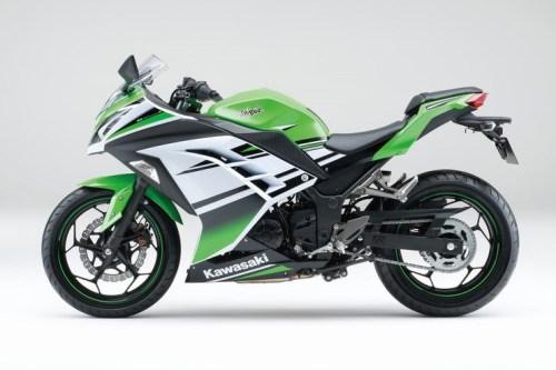 Ninja 250 facelift