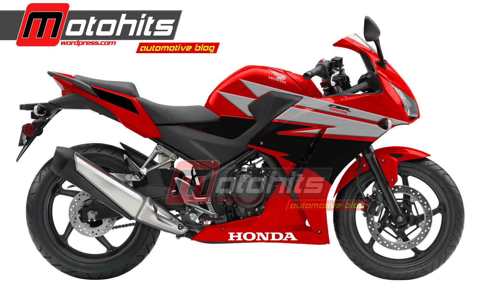 104 Modifikasi Motor Cbr150r Lokal Warna Merah Modifikasi Motor