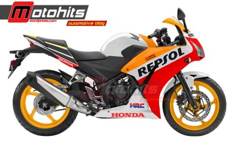 CBR150R repsol edition