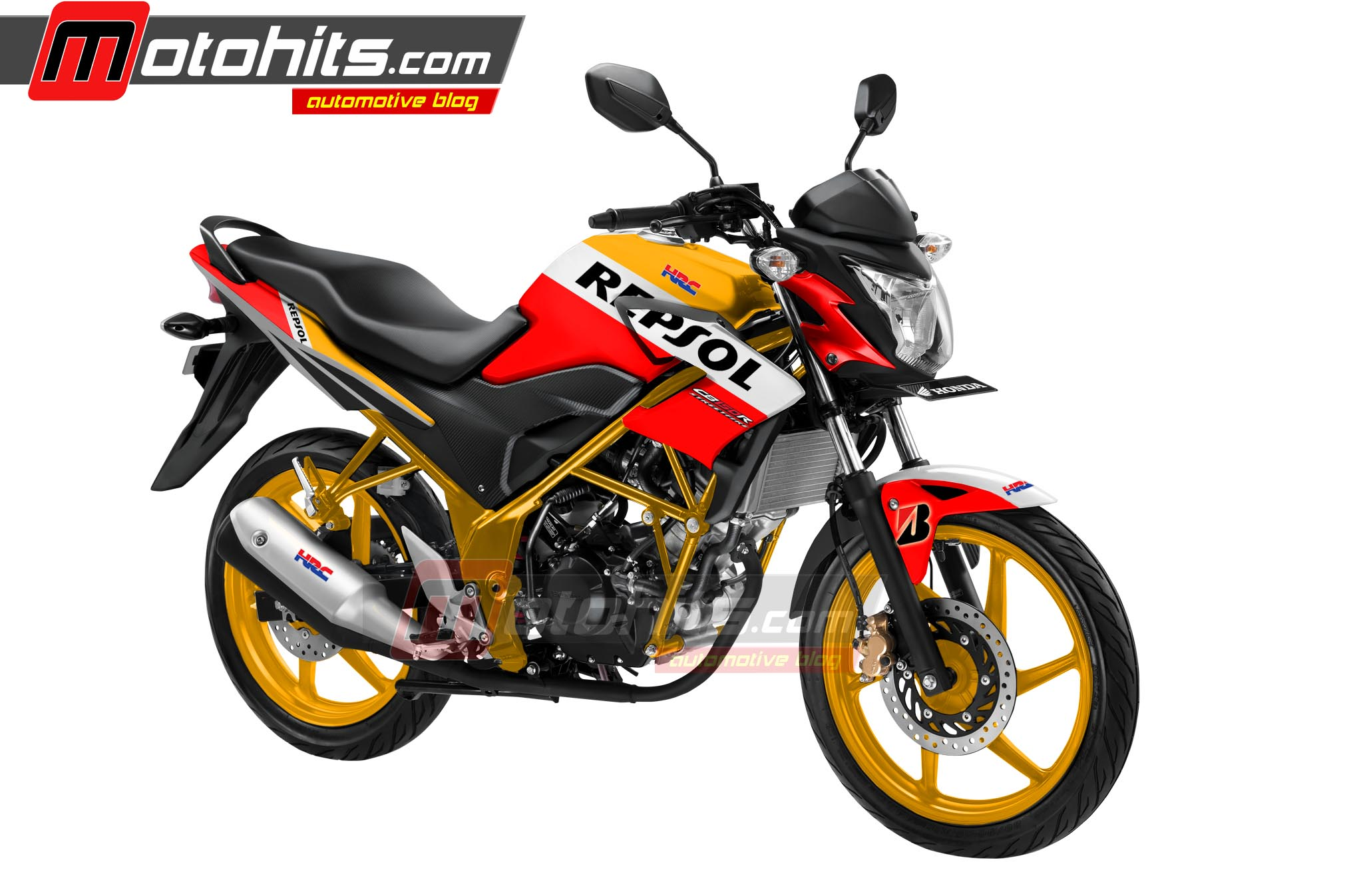 Download Koleksi 99 Modifikasi Motor Honda Cb150r Repsol Terkeren