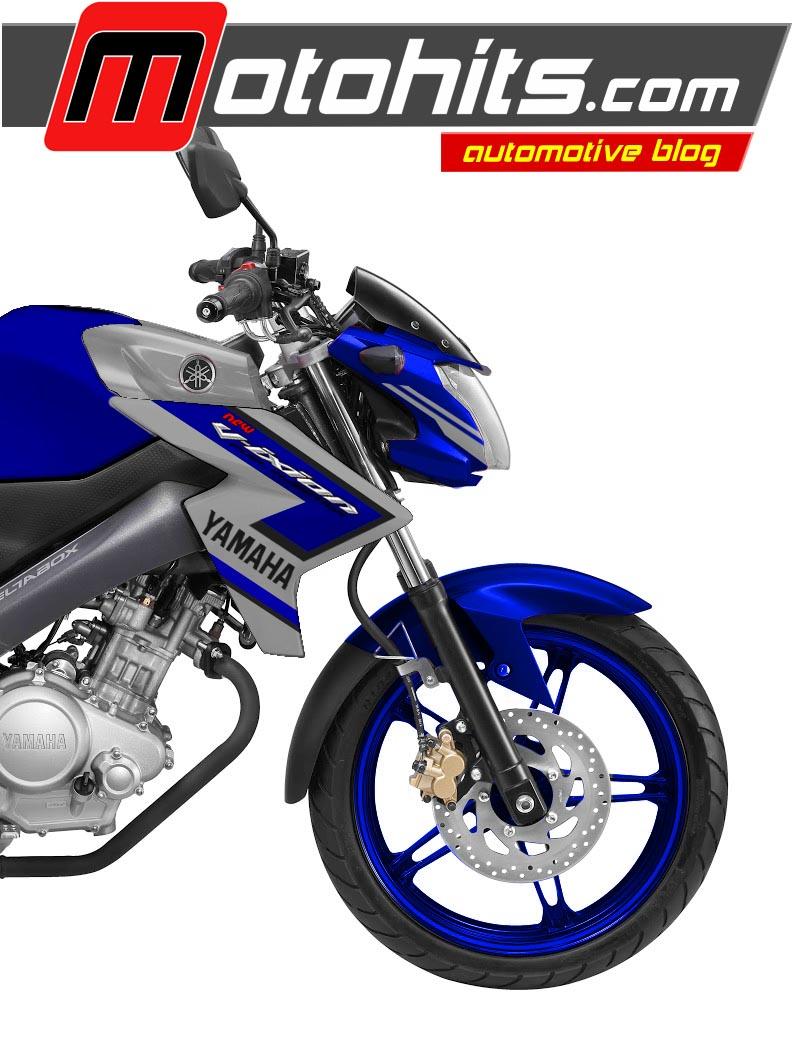 Koleksi Modifikasi New Vixion Advance Biru Terlengkap Kampong Motor