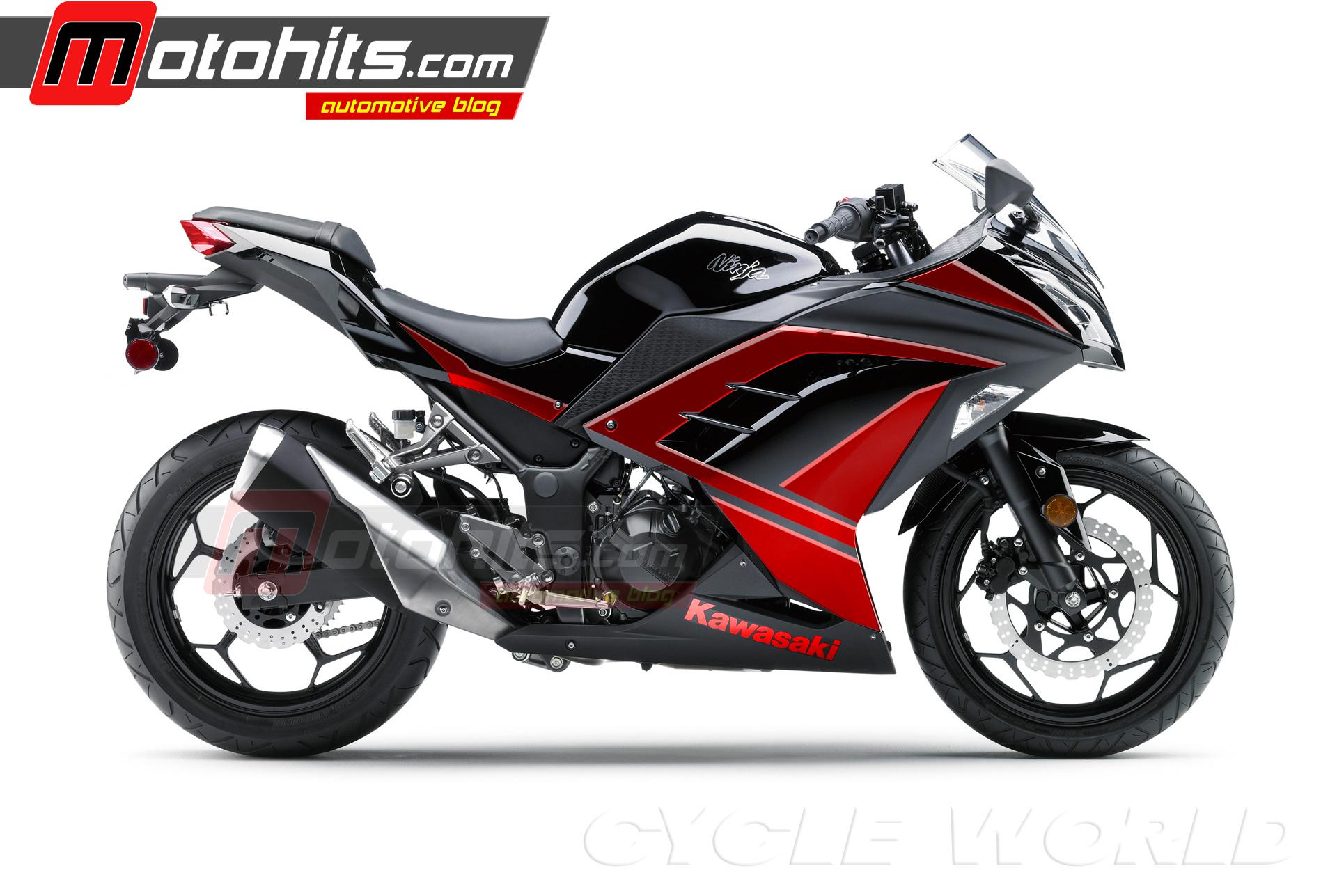 Modifikasi ninja 250 hitam