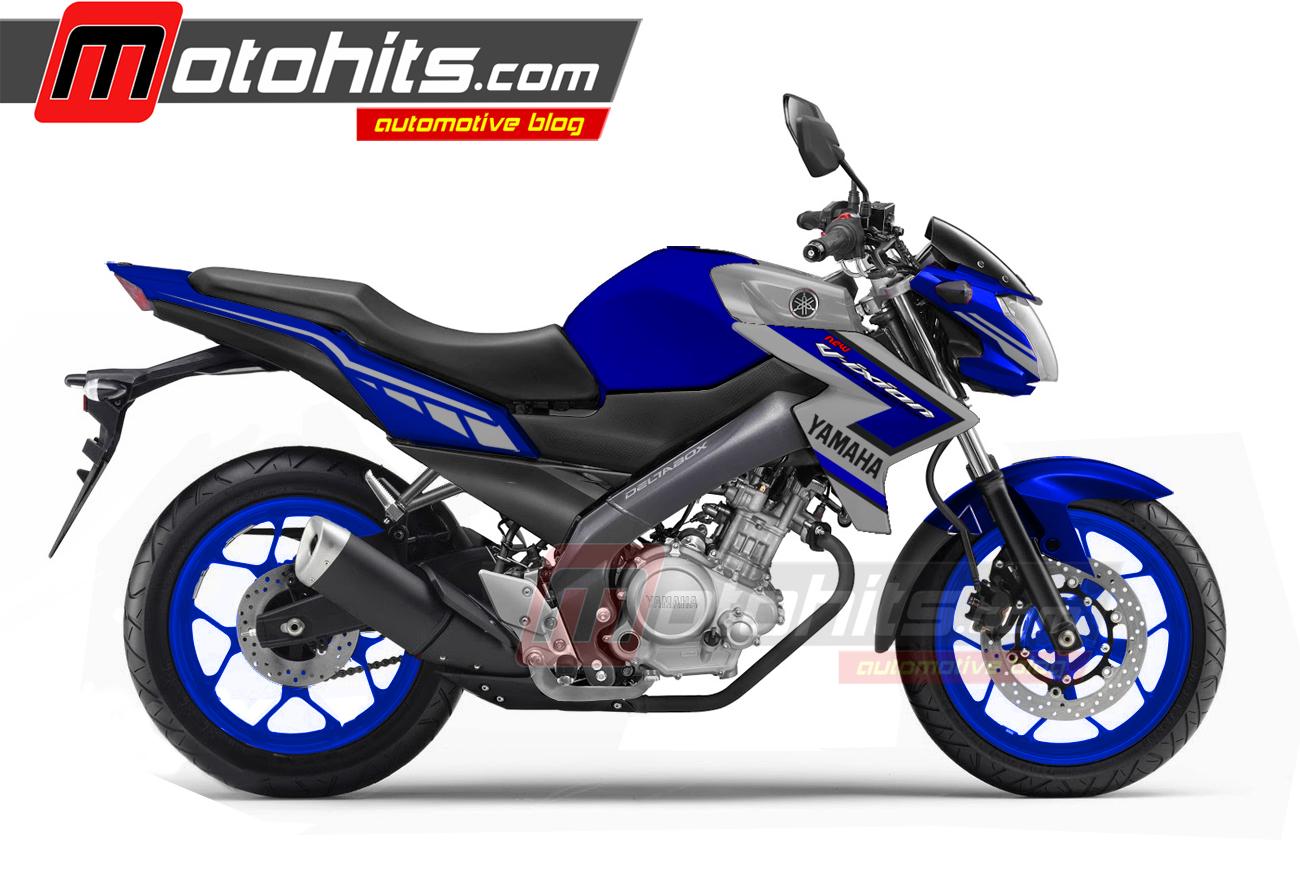Koleksi 75 Modifikasi Motor Vixion Warna Biru Terbaik Rendang