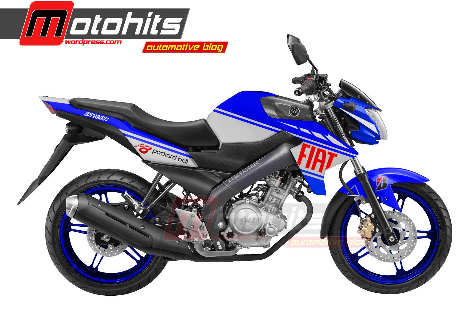 Pojok Modifikasi Modif Decal New Vixion Lightning Yamaha Fiat