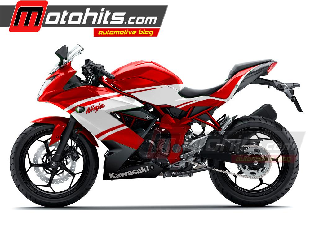 Pojok Modifikasi Modif Ninja 250 Rr Mono Ducati Look Motohitscom
