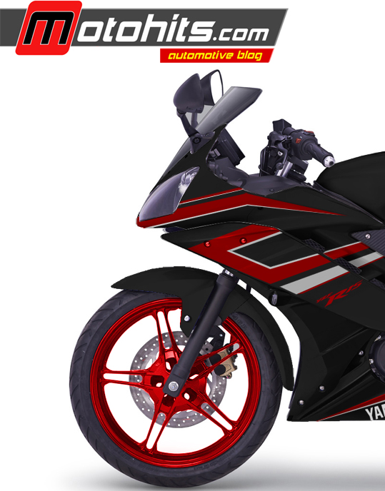 Pojok Modifikasi Modif Decal R15 Black Red