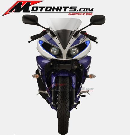 modif headlamp Yamaha R15