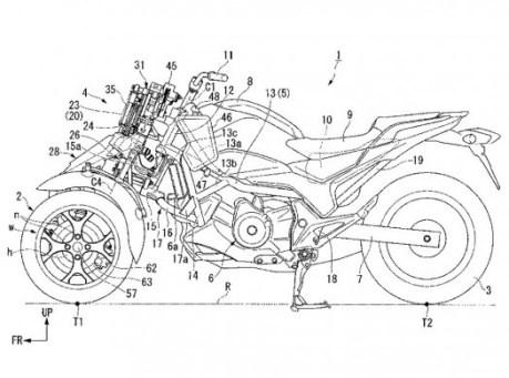 motor roda 3 honda