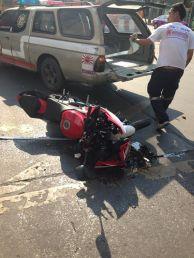 Kecelakaan Yamaha R15