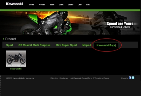 website Kawasaki