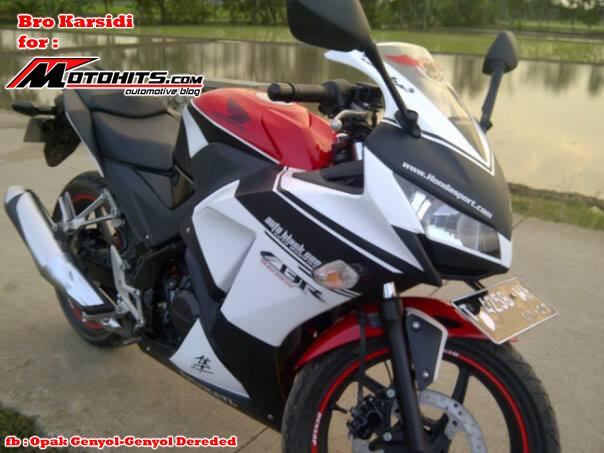 Modifikasi Honda Cbr150r Simple Tapi Keren Motohitscom