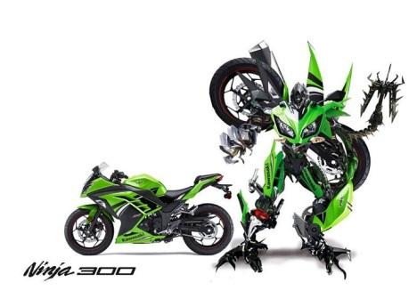 autobot Ninja 300