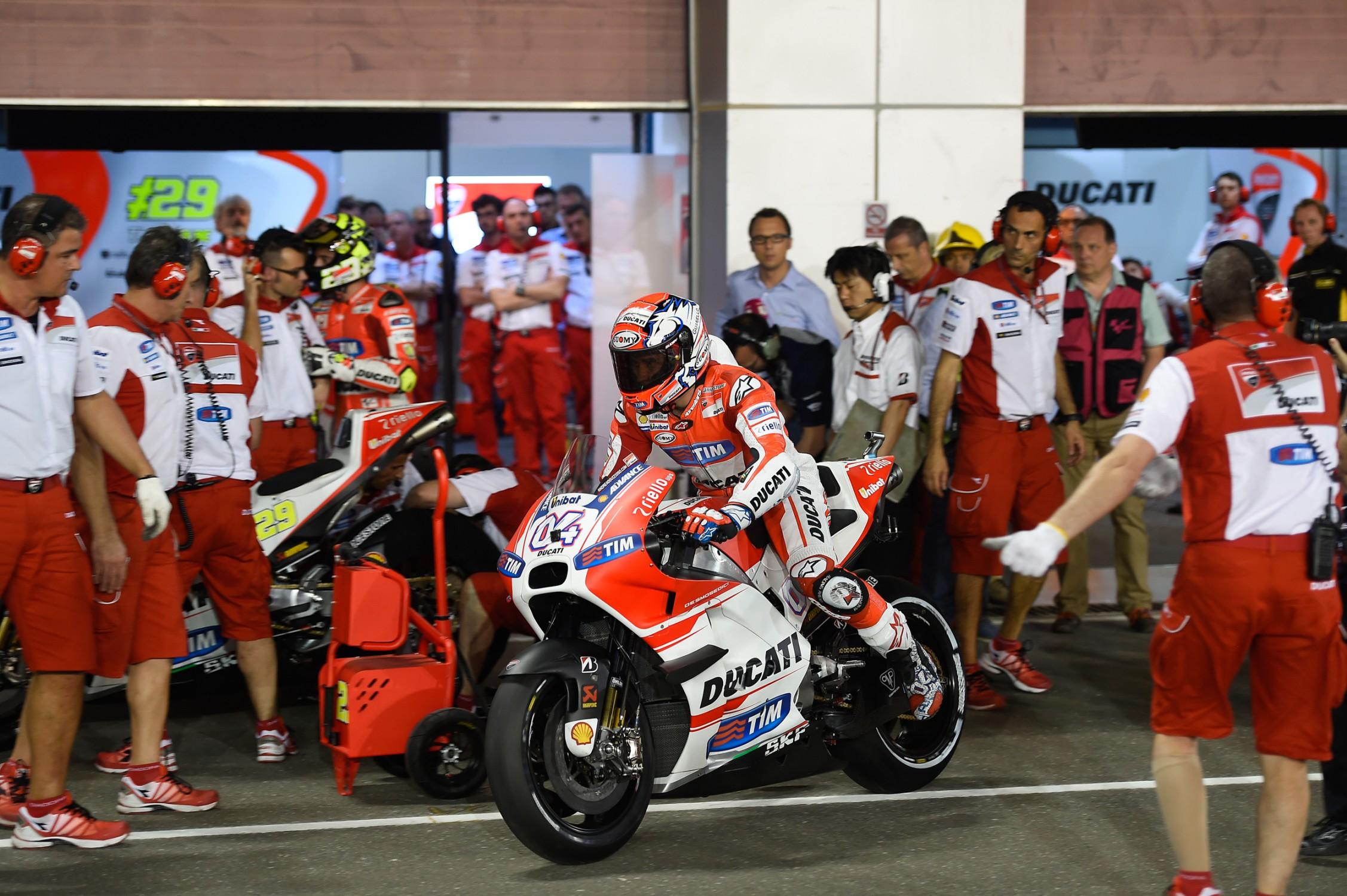 Hasil Kualifikasi Motogp Qatar 2015, Ducati Start di Depan Euy…. | motohits.com