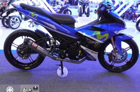 modifikasi Yamaha Jupiter Mx king