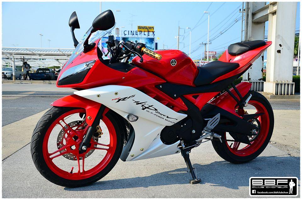 modifikasi r15 merah putih  tahun ini