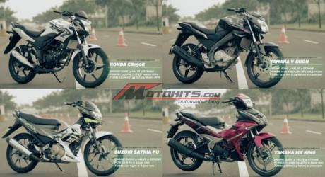 adu drag motor 150cc