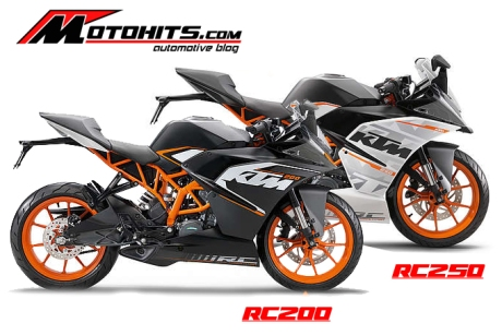KTM RC250 vs RC200