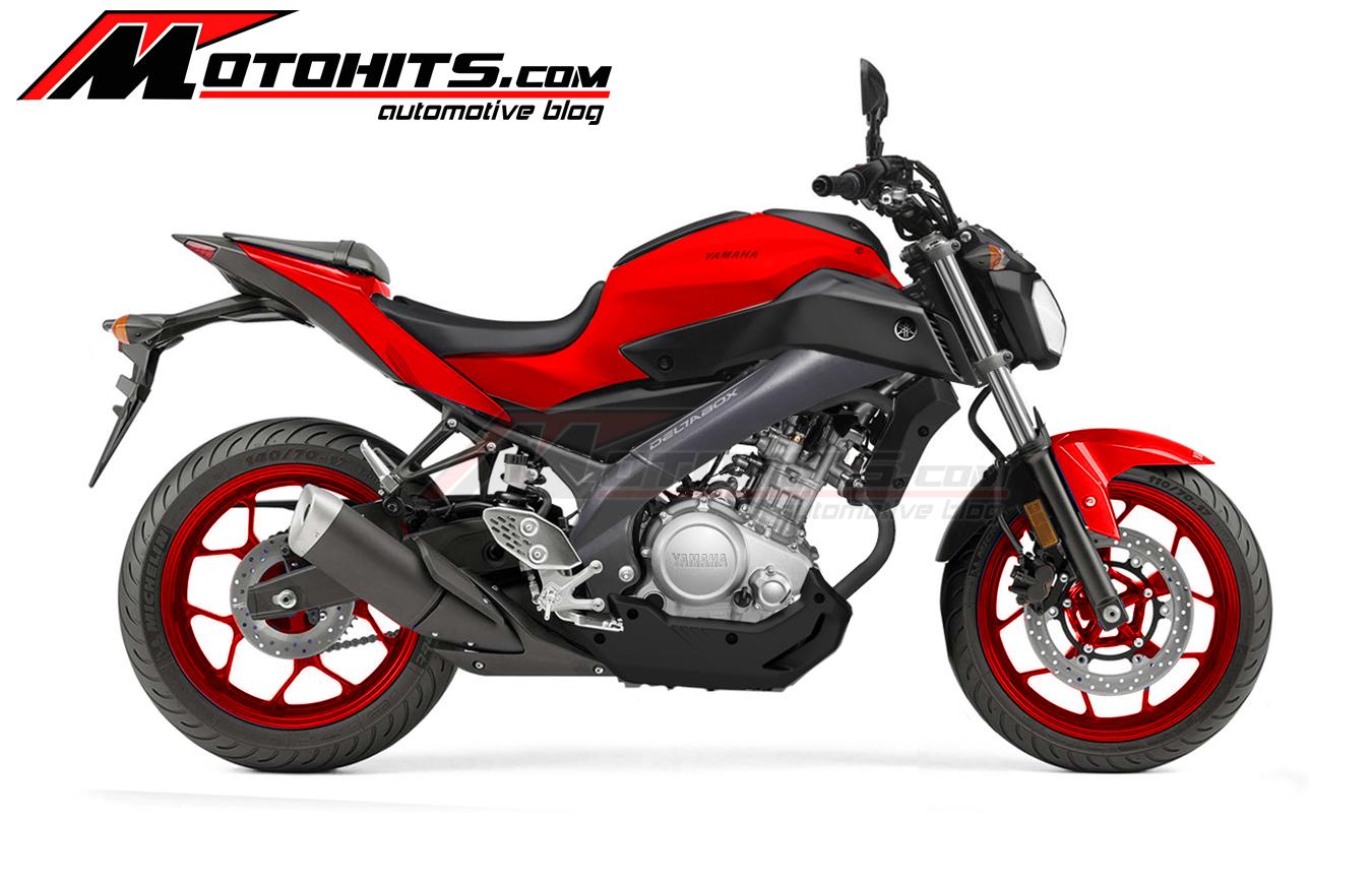 Modifikasi New Vixion Kolaborasi Yamaha MT 07 MT 125 Dan R25