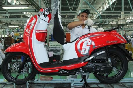 New Honda Scoopy esp