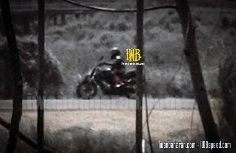 spyshot Honda CB150R Facelift