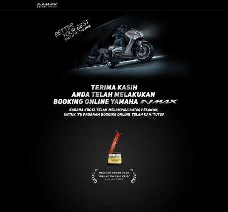 booking online nmax