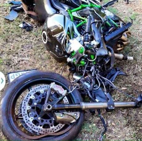 Kecelakaan Ninja H2