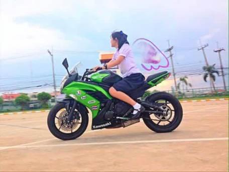 pelajar moge thailand