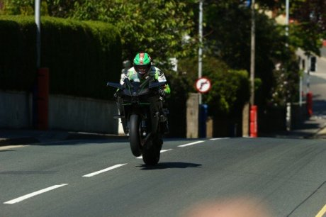 Ninja H2R isle Man Of TT