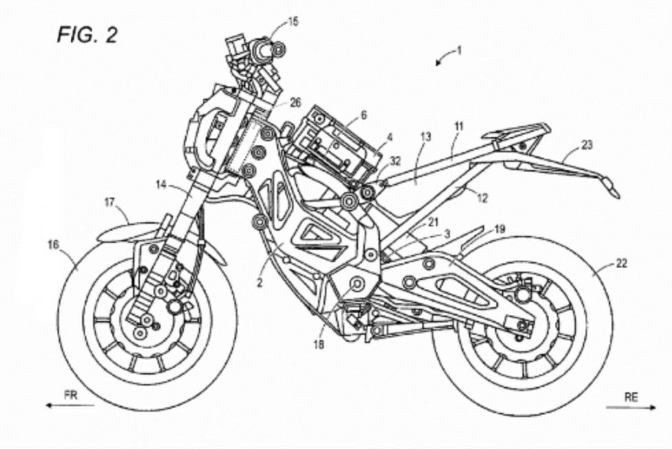 suzuki siapkan sepeda motor listrik  desain unik cuy