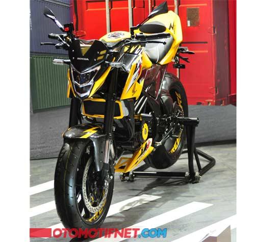 Modifikasi All New CB150R Racikan AHM Ini Keren Abis !! | motohits.com