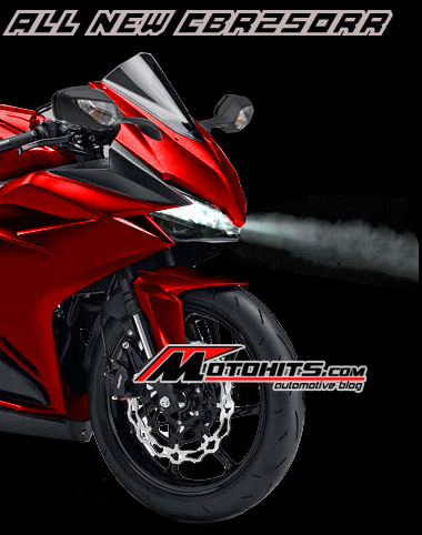 all new Honda CBR250RR dual cylinder