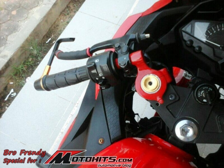 modifikasi Ninja 250 Fi