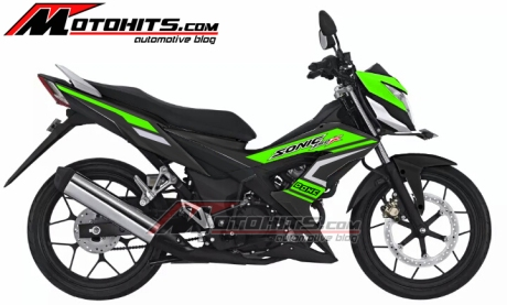 modif striping new sonic 150