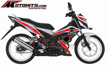 modifikasi honda sonic 150