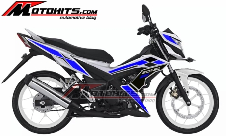 modifikasi striping honda sonic 150