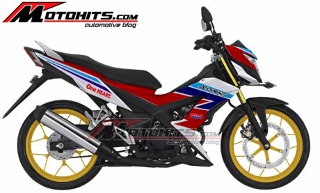 modifikasi Honda Sonic 150r