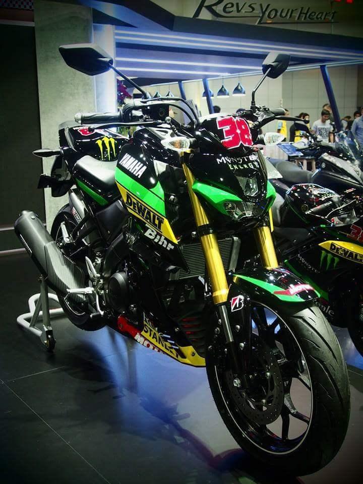 galeri foto yamaha  slaz livery tech motogp keren