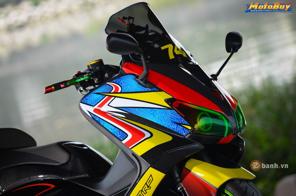 modifikasi yamaha  max full color motohitscom