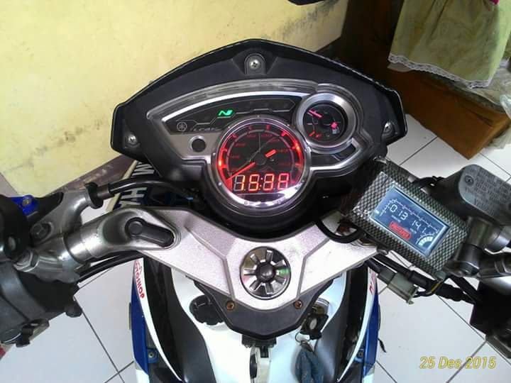 Blue Devil Modifikasi Jupiter Mx 135 Ala Yamaha X1r Milik Bro
