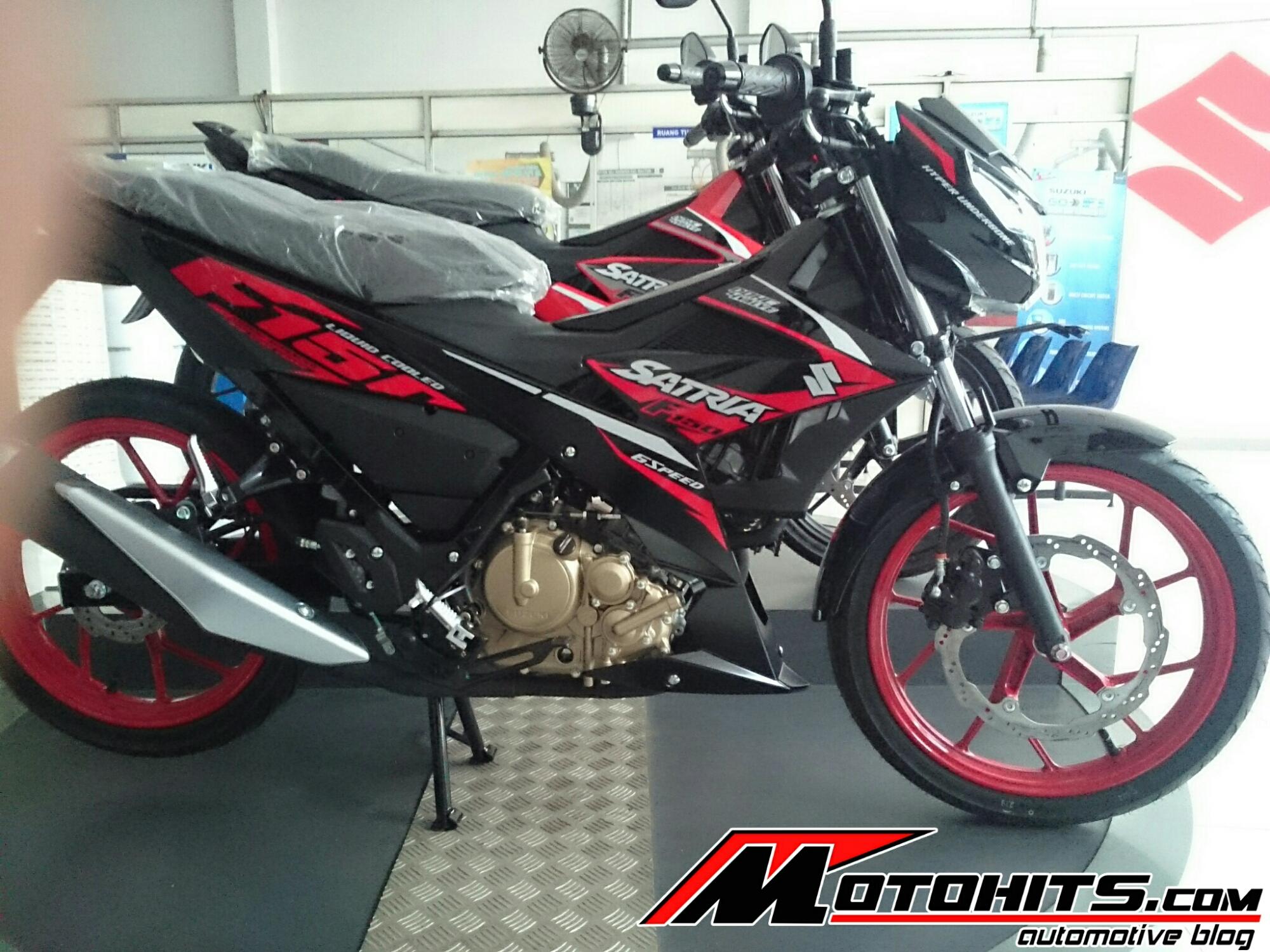 Satria F150 Fi Sudah Ready Di Dealer Pekalongan Jateng Bro