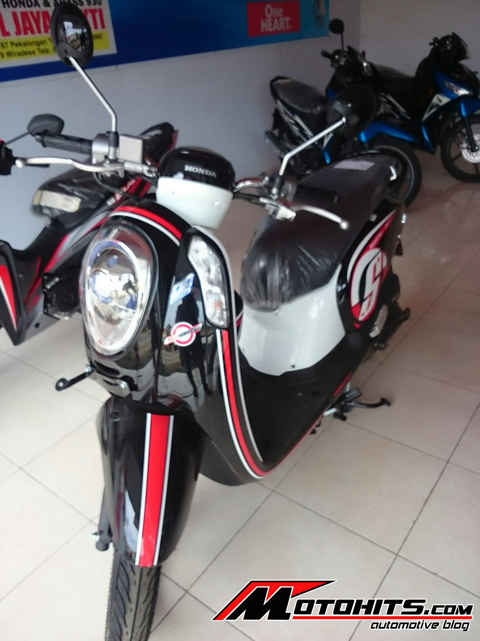 Jual Motor Honda Scoopy 2016 110 Automatic 0 1 Di Jawa Timur