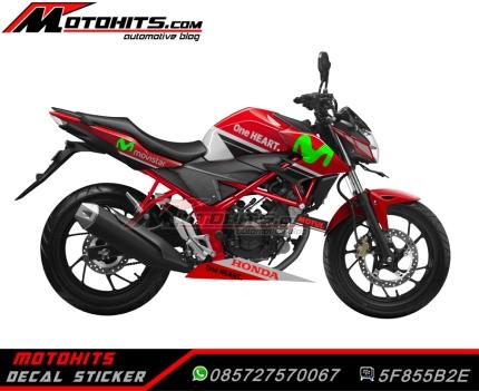 all new cb150r red movistar