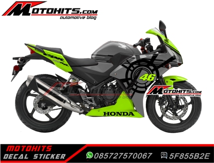 Decal Sticker Hondacb150r sun moon