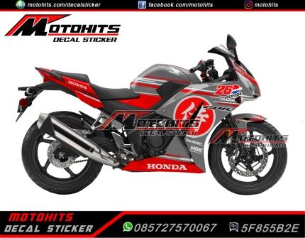 Bike : Honda CBR150R K45 Concept : Samurai Pedrosa 1 Harga : Rp. 825.000
