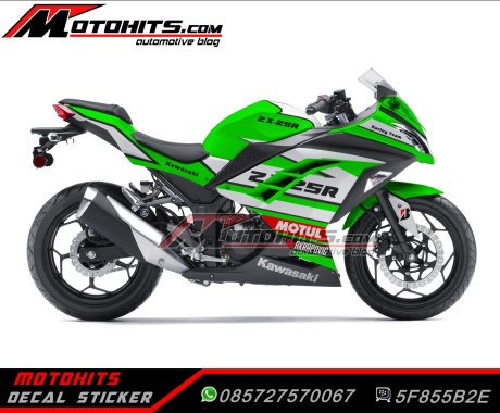 sticker decal Ninja 250 fi